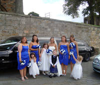 Dunfermline Wedding Limo