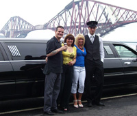 Fife to Edinburgh Limo