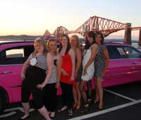 Pink Party Limo