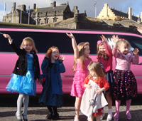 Pink Limo For 6TH Birthday Party